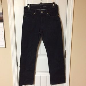 7FAM Slimmy Dark Wash Classic Straight Leg Jeans